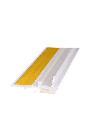 Listwa przyokienna bez siatki kolor biały L= 2500 mm