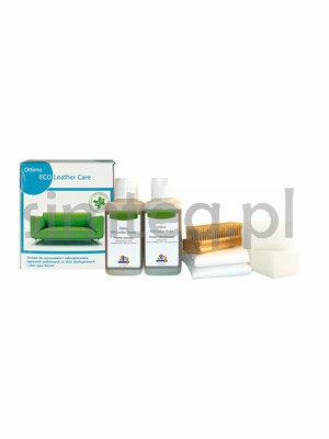 Zestaw do czyszczenia i zabezpieczania tapicerek meblowych ze skór eko i bycast