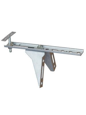 Konsola dolna płaska ze wzmocnieniem i regulacją wysokości WU-ST-250/2,5/65 łącznik płaski
