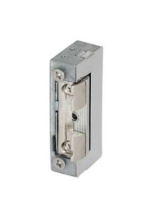 Elektrozaczep rewersyjny do drzwi bezfelcowych 28x16,5x67 mm