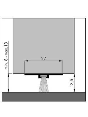 Uszczelnienie szczotkowe DBS 3000 mm