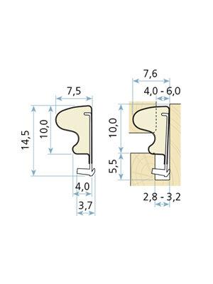 Uszczelka okienna QLON QL-3054