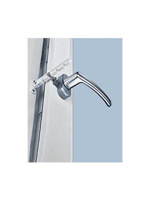 Ogranicznik grzebieniowy do okien biały