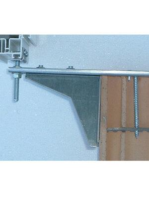 Konsola dolna płaska ze wzmocnieniem i regulacją wysokości WU-ST-300/3/110 łącznik kątowy