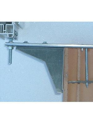 Konsola dolna płaska ze wzmocnieniem i regulacją wysokości WU-ST-300/3/110 łącznik płaski