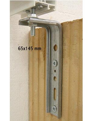 Konsola dolna kątowa FMW 65x145x2,5 - F40M8 z łącznikiem płaskim